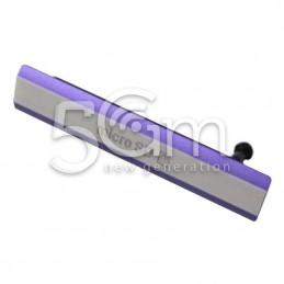 Xperia Z2 Purple SD Card Port Cover