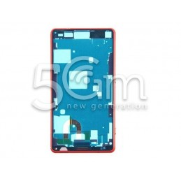Xperia Z3 Mini Full Red LCD Frame