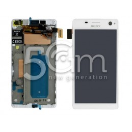 Display Touch Bianco + Frame Xperia C4