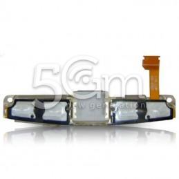 Sottotastiera Superiore + Supporto Flat Cable Blackberry 9790