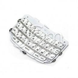 Blackberry 9800 White Keypad