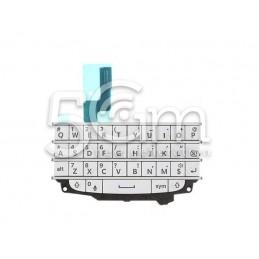 Tastiera Bianca + Flat Cable BlackBerry Q10