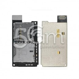 Lettore Sim Card Flat Cable Htc One Sv