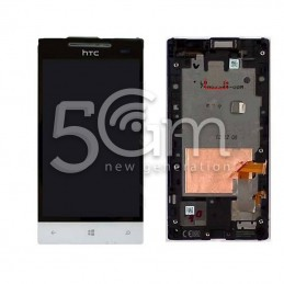 Display Touch Bianco + Frame Htc 8s
