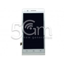 Display Touch Bianco + Frame Huawei G6 4G
