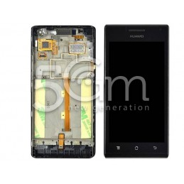 Display Touch Nero Huawei Ascend P1