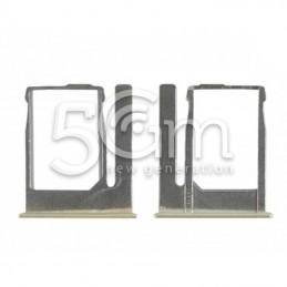 Supporto Sim Card Gold HTC One Mini 2