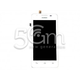 Display Touch Bianco + Frame Huawei G510