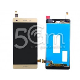 Huawei P8 Lite Gold Touch Display Without Frame