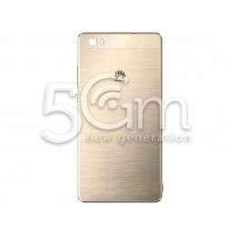 Huawei P8 Lite Gold Back Cover