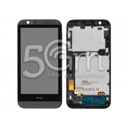 Display Touch Nero + Frame HTC Desire 510