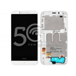 Display Touch Bianco + Frame HTC Desire 510