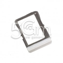 Supporto Sim Card Bianco HTC One Mini