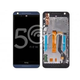 Display Touch Nero + Frame HTC Desire 626 x Versione Blu