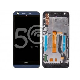 Display Touch Nero + Frame HTC Desire 626 x Versione Blu