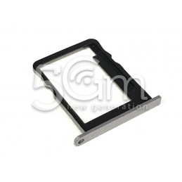Huawei Ascend P7 Silver White Sim Card Holder