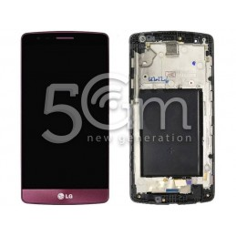 Display Touch Purple + Frame LG G3 Mini
