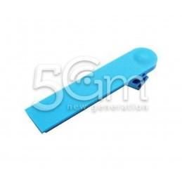 Nokia 800 Lumia Blue Usb Port Cover