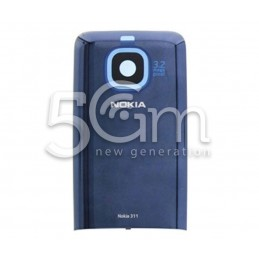 Nokia 311 Asha Blue Back Cover
