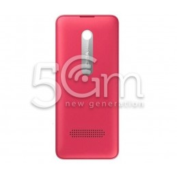 Nokia 206 Pink Back Cover