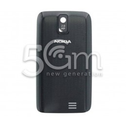 Nokia 308 Asha Black Back Cover