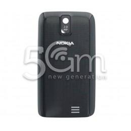 Retro Cover Nero Nokia 308 Asha