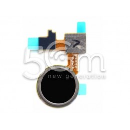 LG Nexus 5X Black Fingerprint Home Button Flex Cable