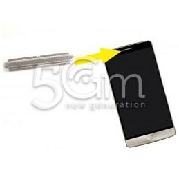 LG G3 Silver Speaker Grid