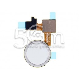 LG Nexus 5X White Fingerprint Home Button Flex Cable