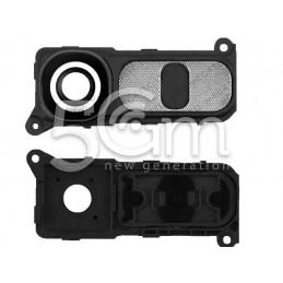 LG G4 Camera Cover + Dark Silver Function Keys