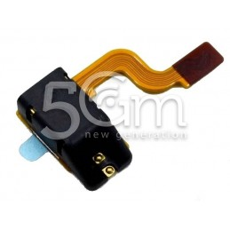 LG P920 Black Audio Jack Flex Cable