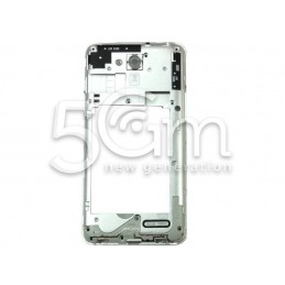 LG L90 Full Silver Middle Frame