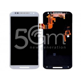 Display Touch Bianco + Frame Motorola XT1092 Moto X 2nd Gen