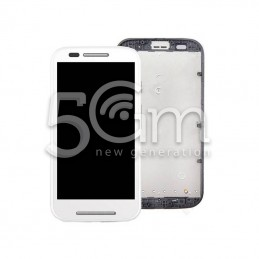 Display Touch Bianco + Frame Motorola Moto E