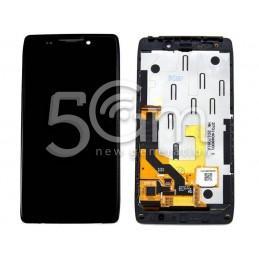 Display Touch Nero + Frame Motorola XT926