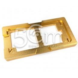 Dima Posizionamento Vetro Gold Aluminium iPhone 6-6S