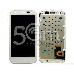 Display Touch Bianco + Frame Motorola Moto G