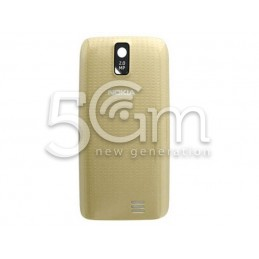 Nokia 308 Asha Gold Back Cover