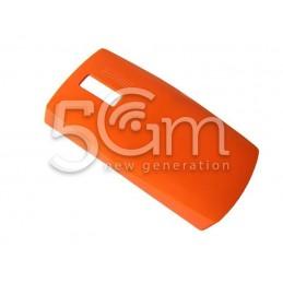 Retro Cover Arancione Nokia 205 Asha