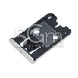 Nokia 925 Lumia Silver Sim Card Holder
