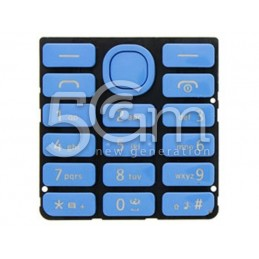 Nokia 206 Light Blue Keypad