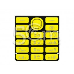 Nokia 206 Yellow Keypad
