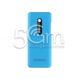 Nokia 206 Light Blue Back Cover