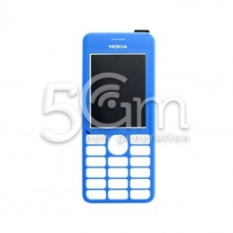Nokia 206 Blue Front Cover