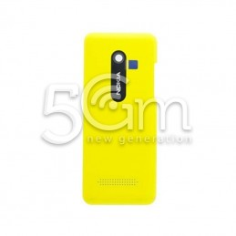 Nokia 206 Yellow Back Cover