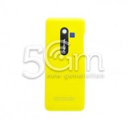 Retro Cover Giallo Nokia 206