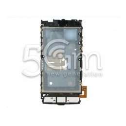 Nokia X6 Middle Board Keypad Flex Cable