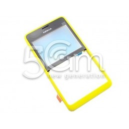 Nokia 210 Dual Yellow Front Cover