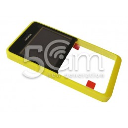 Nokia 210 Asha Yellow Front Cover