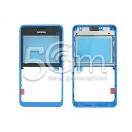 Nokia 210 Asha Dual Blue Front Cover